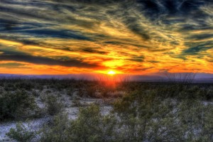 sunset-desert-texas-big-bend-sky