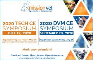 MissionVet 2020 Symposium Dates